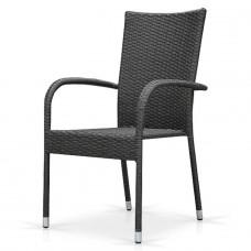 Плетеный стул AFM-407G grey