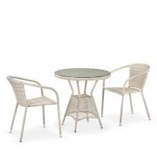 Комплект плетеной мебели T705ANT/Y137C-W85 2Pcs Latte