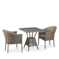 Комплект плетеной мебели T706G/Y350G-W1289 2Pcs Pale