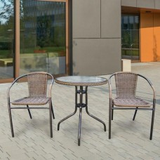 Комплект мебели Асоль-1A TLH-037AR3/060RR-D60 Cappuccino (2+1)