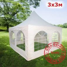 Шатер Пагода Giza Garden 3х3м белый PRO