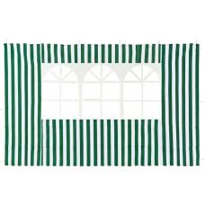 Cтенка Green Glade с окном (зеленая) 3м