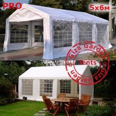 Шатер Giza Garden 5 x6м белый PRO