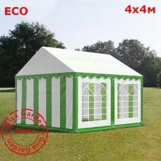 Шатер Giza Garden 4x4м зелено-белый