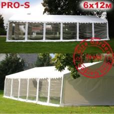 Шатер Giza Garden 6x12м прозрачный PRO-S