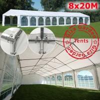 Шатер павильон Giza Garden 8x20м белый PRO