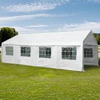 Большой шатер (TH) 4х8 белый для летнего кафе