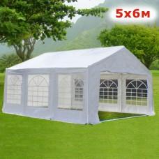 Шатер павильон Giza Garden 5x6м белый
