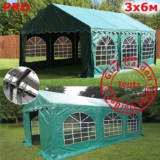Шатер Giza Garden 3x6м зеленый PRO