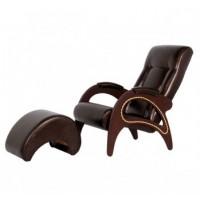 Кресло для отдыха, модель 41 экокожа с банкеткой