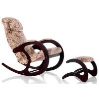 Кресло-качалка Блюз-2 с банкеткой для ног Блюз-4
