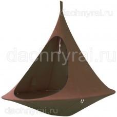 Гамак-кокон подвесной Jamber коричневый