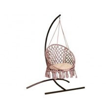 Подвесное кресло качели ARUBA с подушкой + балдахин в подарок
