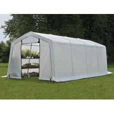 Теплица CoverIT Eco 3x6x2 м со светорассеивающим тентом