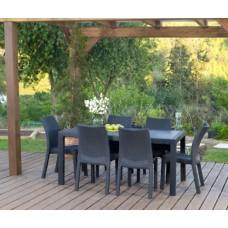 Комплект Стол Melody и 6 стульев Toscana (Тоскана)