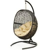 Подвесное кресло Lunar Black 118х100