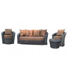 Дачная мебель Kvimol KM-0061 в коричневом цвете