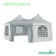 Шатер-беседка Green Glade 1052 2.5х2.5х2.5х2.5х3.4м полиэстер 2 коробки
