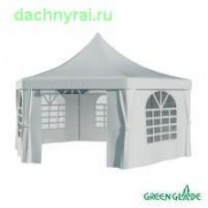Шатер-беседка Green Glade 1053 2.5х2.5х2.5х3.4м полиэстер 2 коробки
