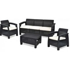 Набор пластиковой мебели CORFU TRIPLE SET (Корфу Трипл Сет)