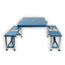 Стол-чемодан синий