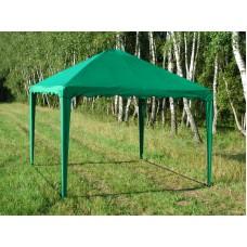Садовый Тент 3х3м,  усиленный каркас, без стенок, зеленый