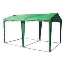 ШАТЕР-БЕСЕДКА МИТЕК 5 х 2,5, усиленный каркас, без стенок, зеленый
