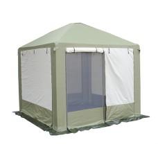 Беседка шатер Пикник 2,5 х 2,5м хаки-беж