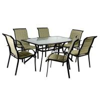 Садовый комплект мебели BORDO (стол и 6 стульев)