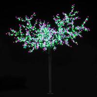 """LED-""""Вишня"""", высота 2.7 м, 2196 светодиодов"""