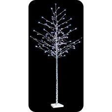 "LED-""Берёзка белая"", высота 2.5м, 144 светодиод"