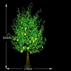 LED дерево Манго 320см