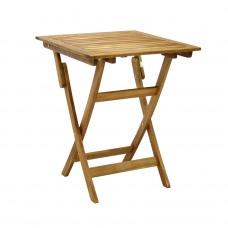 Садовый деревянный складной стол RECTANGLE TGF-203 B, 120*70см, тик