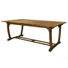 Садовый деревянный стол FUTURE, акация, раздвижной