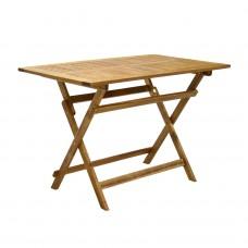 Садовый деревянный стол FINLAY 13180, акация, складной