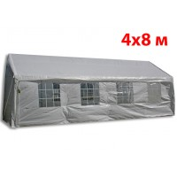 Шатер павильон 4x8 м белый ПВХ