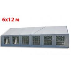 Шатер павильон 6х12 м белый ПВХ