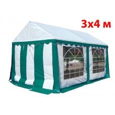 Шатер тент 3x4 м зеленый ПВХ