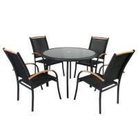 Комплект  мебели EDMONTON - стол и 4 стула