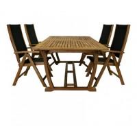 Комплект обеденной садовой деревянной мебели FUTURE