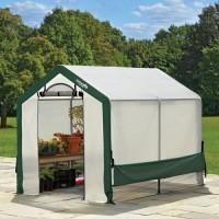 Теплица ShelterLogic 1,8x2,4x2м с комбинированным армированным тентом