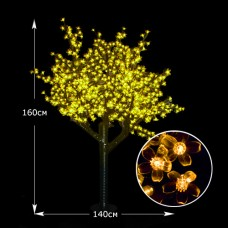 Светодиодная Сакура 160см желтый