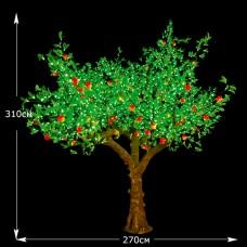 """Фруктовое дерево""""Яблоня"""" 3.1м 2600 светодиодов"""