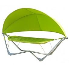 Подвесное кресло гамак ИБИЦА с навесом зеленый
