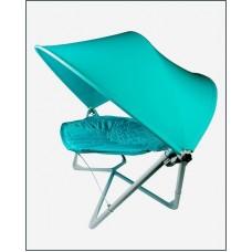 Подвесное кресло гамак ИБИЦА с навесом бирюзовый