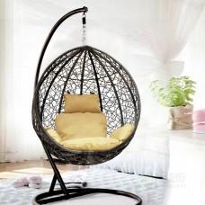 Подвесное кресло Сицилия, беж-кор