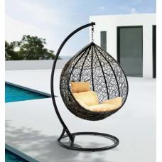Подвесное кресло Сардиния, беж-коричневое