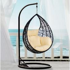 Подвесное кресло Милан, черное