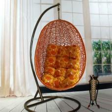 Подвесное кресло Изи оранжевое
