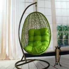 Подвесное кресло Изи зеленое